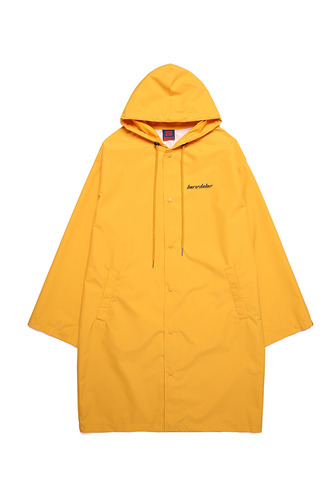 BA PS RAIN LONG COAT YELLOW (OFFICIAL LIMITED)